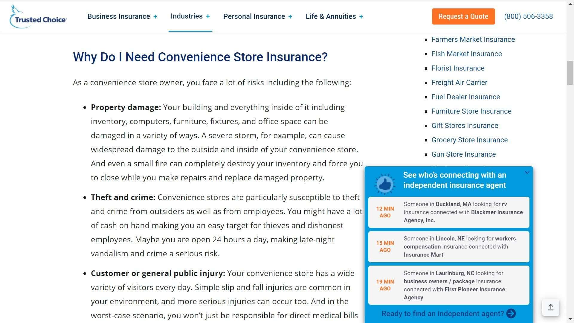 por que necesito un seguro para mi tienda